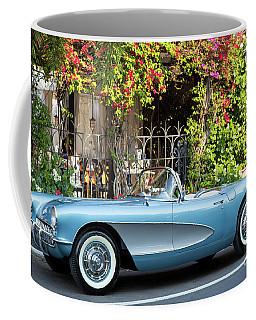 Coffee Mug featuring the photograph 1957 Corvette by Brian Jannsen
