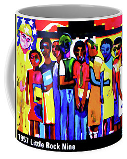 1957 Little Rock Nine Coffee Mug by Lanjee Chee