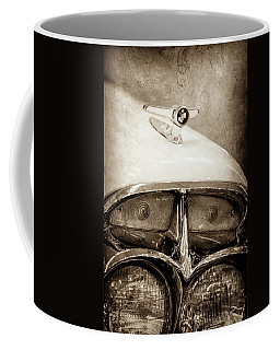 1957 Mercury Turnpike Cruiser Emblem -0749s Coffee Mug