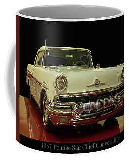 Coffee Mug featuring the photograph 1957 Pontiac Star Chief Convertible by Chris Flees