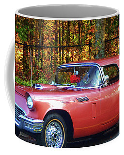 Coffee Mug featuring the photograph 1957 Thunderbird  003 by George Bostian
