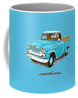 1958 Apache Pick Up Truck Coffee Mug