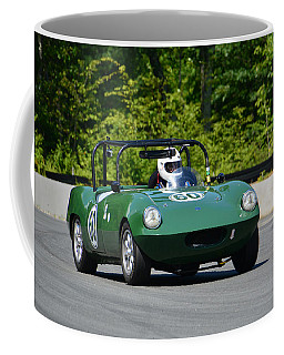 Coffee Mug featuring the photograph 1958 Elva Courier by Mike Martin