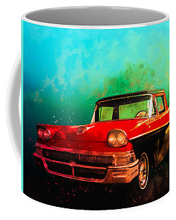 1958 Ford Ranchero Watercolour Coffee Mug