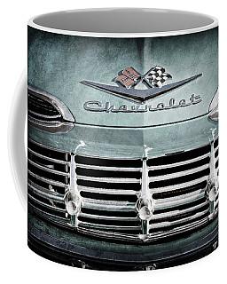 1959 Chevrolet Impala Grille Emblem -1014ac Coffee Mug