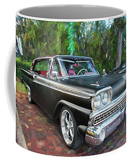 1959 Ford Galaxy C113 Coffee Mug by Rich Franco