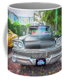 1959 Ford Galaxy C115 Coffee Mug by Rich Franco