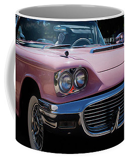 1959 Ford Thunderbird Convertible Coffee Mug by Joann Copeland-Paul