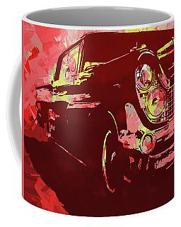 1959 Lincoln Continental Red Pop Coffee Mug