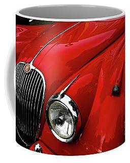 Red Jaguar Coffee Mug