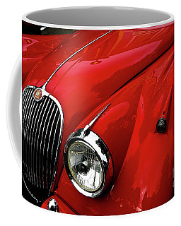 Red Jaguar Coffee Mug