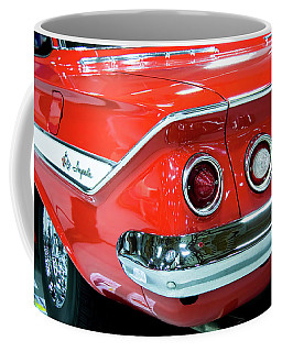 1961 Classic Red Chevrolet Impala Coffee Mug