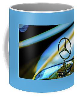 1962 Mercedes-benz 6.3 Liter 220se Cabriolet Hood Ornament Coffee Mug