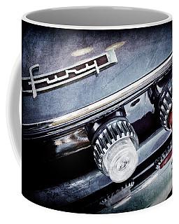 1962 Plymouth Fury Taillight Emblem -0458ac Coffee Mug