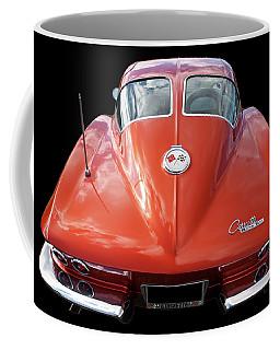 1963 Corvette Stingray Split Window Rear Coffee Mug