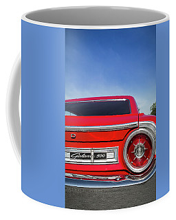 1964 Ford Galaxie 500 Taillight And Emblem Coffee Mug