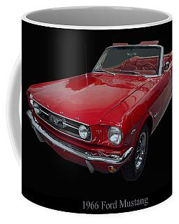 1966 Ford Mustang Convertible Coffee Mug