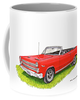 Coffee Mug featuring the painting 1966 Mercury Cyclone Convertible G T by Jack Pumphrey