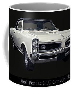 1966 Pontiac Gto Convertible Coffee Mug