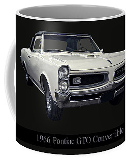 1966 Pontiac Gto Convertible Coffee Mug