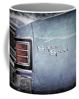 1967 Chevrolet Chevelle Ss Super Sport Taillight Emblem -0288ac Coffee Mug