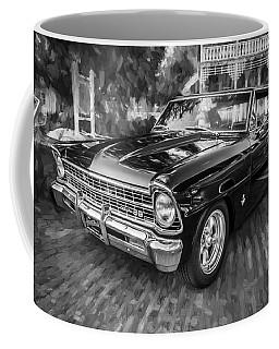 1967 Chevrolet Nova Super Sport Painted Bw 1 Coffee Mug