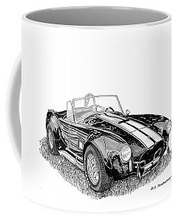 Coffee Mug featuring the painting 1967 Cobra Sc by Jack Pumphrey