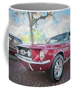 1967 Ford Mustang Coupe C117 Coffee Mug by Rich Franco