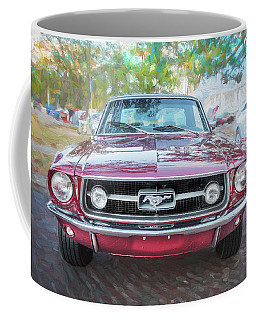 1967 Ford Mustang Coupe C118  Coffee Mug by Rich Franco