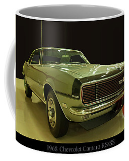 Coffee Mug featuring the photograph 1968 Chevy Camaro Rs-ss by Chris Flees