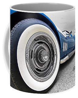 1968 Corvette White Wall Tires Coffee Mug