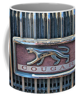 1968 Mercury Cougar Emblem Coffee Mug