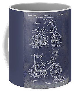 Bike blueprint coffee mugs fine art america 1968 schwinn stingray patent in blueprint coffee mug malvernweather Gallery