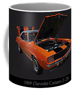 1969 Chevy Camaro Z28 Coffee Mug