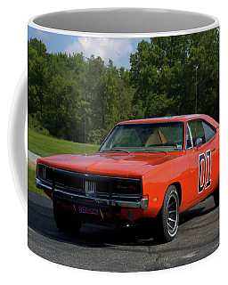 1969 Dodge Charger Rt Coffee Mug by Tim McCullough