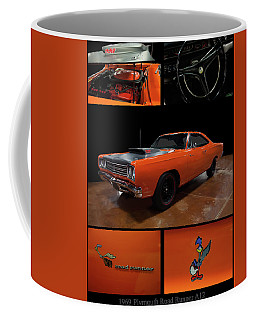 Coffee Mug featuring the photograph 1969 Plymouth Road Runner A12 by Chris Flees