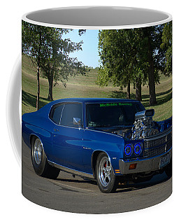 1970 Chevelle Dragster Coffee Mug by Tim McCullough