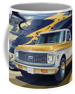 1971 Chevrolet C10 Cheyenne Fleetside 2wd Pickup Coffee Mug