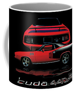 1971 Plymouth Cuda 440 Six Pack    Coffee Mug