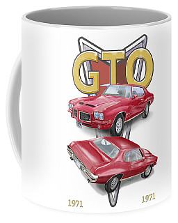 1971 Pontiac Gto Coffee Mug