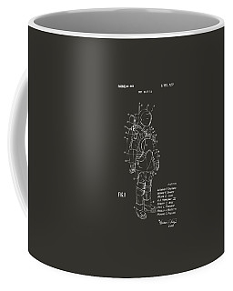 1973 Space Suit Patent Inventors Artwork - Gray Coffee Mug