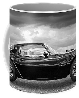 1978 Trans Am In Black And White Coffee Mug