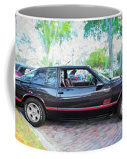 1987 Chevrolet Monte Carlo Ss Coupe C121 Coffee Mug by Rich Franco