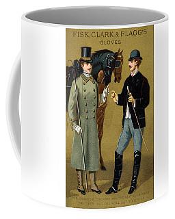 19th C. Men's Gloves Poster 1 Coffee Mug