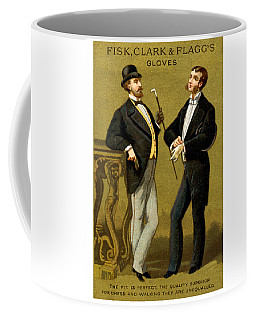 19th C. Men's Gloves Poster 2 Coffee Mug