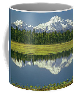 1m1325 Mt. Hunter And Mt. Denali Coffee Mug