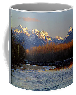 1m4525 Skykomish River And West Central Cascade Mountains Coffee Mug