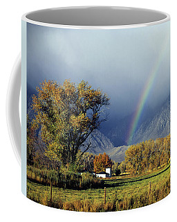 1m6345 Rainbow In Sierras Coffee Mug
