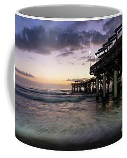 1st Dawn Cocoa Pier Coffee Mug by Jennifer White