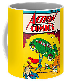1st Superman Comic 1938 Coffee Mug